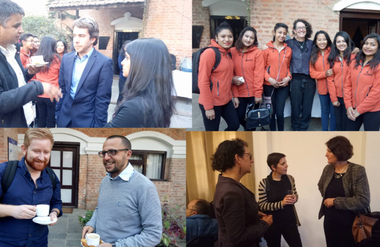 Nepal outreach – networking event